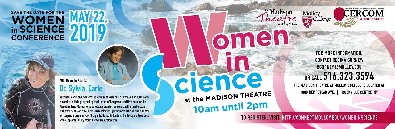 Molloy College - Women in Science, Keynote Speaker - Dr